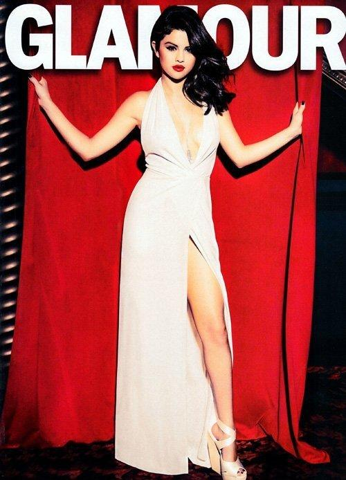 Selena Gomez Glamour Photo