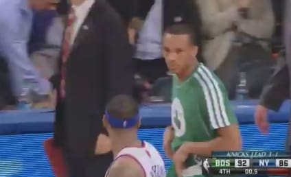 Celtics and Knicks Engage in Post-Game Shoving Match: Who Started It?