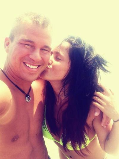 Jenelle Evans With Nathan Griffith