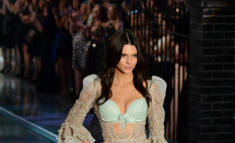 Kendall Jenner in Victoria's Secret Lingerie