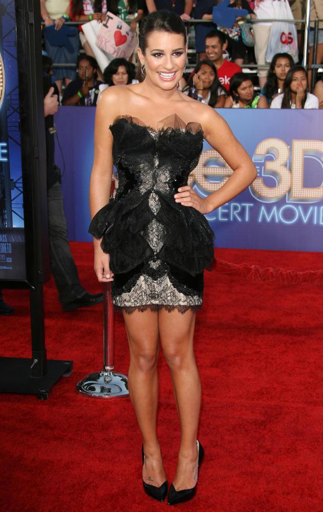 Lea Michele Premiere Pic