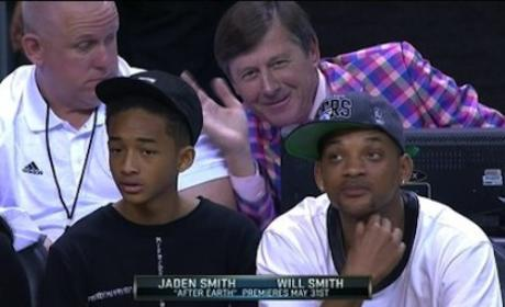 Will Smith Photobomb: Move, Craig Sager!