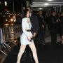 Kylie Jenner Heads Into The Gilded Lily For Balmain's Met Gala After Party