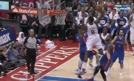 DeAndre Jordan Dunk Nearly Destroys Internet, Brandon Knight