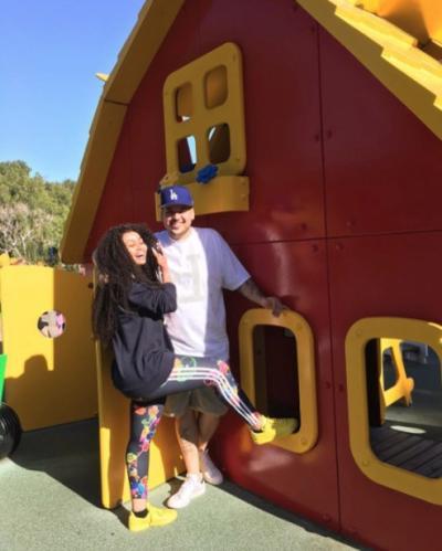 Rob and Blac at Legoland