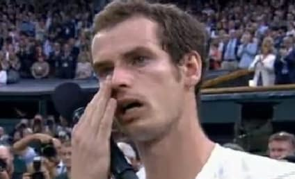 Andy Murray Cries During Wimbledon Runner-Up Speech