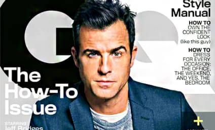 Justin Theroux in GQ: Jennifer Aniston Does Not Like STD Art