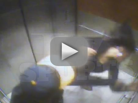 Ray Rice KNOCKS OUT Janay Palmer in Shocking New Elevator