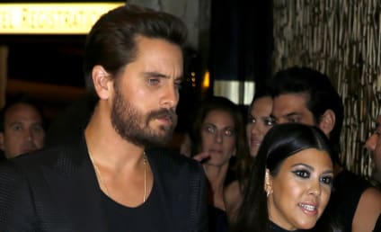 Scott Disick Celebrates 33rd Birthday ... with Kourtney Kardashian!