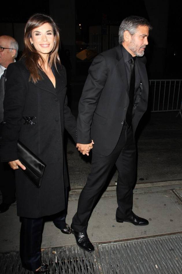 Elisabetta Canalis and George Clooney Picture
