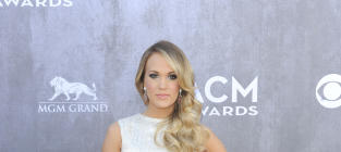 Carrie Underwood at the 2014 ACMs