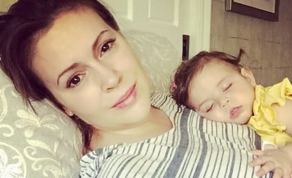 Alyssa Milano Bashes British TSA Agents for Confiscating Breast Milk
