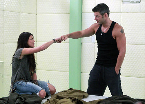 Daniele and Jeff on Big Brother