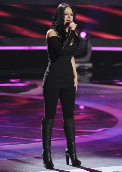 Pia Toscano Sings on American Idol