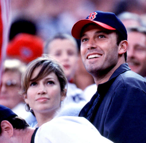Ben Affleck And Jennifer Lopez Red Sox