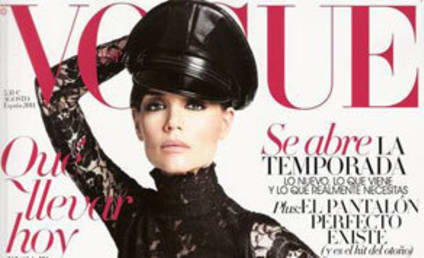 Katie Holmes in Vogue Spain: Getting Her Dominatrix On!
