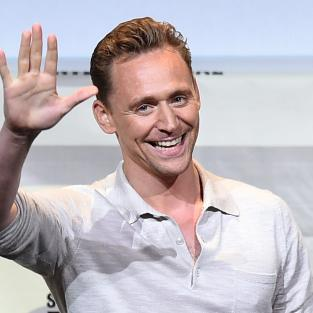 Tom Hiddleston at Comic-Con