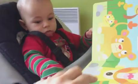 3-Month Old Reacts to (Fake) Lion Roar: Scary and Hilarious!