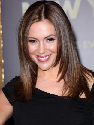 Alyssa Milano is 40