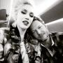 Gwen Stefani Cuddles Up To Blake Shelton On Plane