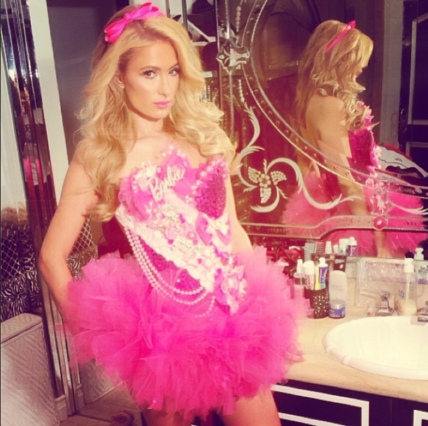 Paris Hilton Halloween