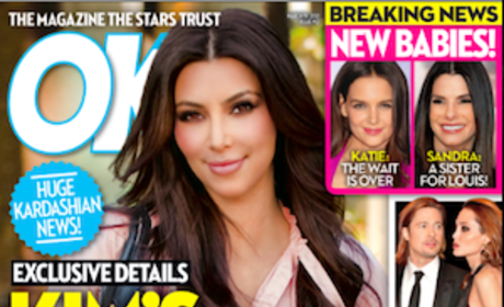 Kim Kardashian Adoption Headline