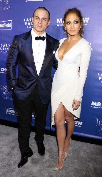Jennifer Lopez and Casper Smart: Grand Opening of Mr. Chow