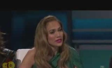 Jennifer Lopez Breaks Down on American Idol