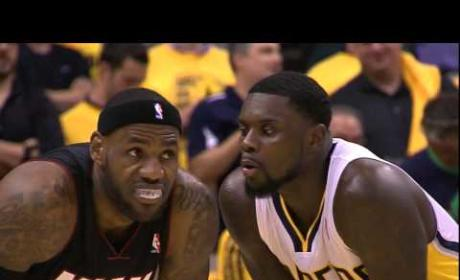 Lance Stephenson Blows in LeBron James' Ear, Inspires Meme Glory