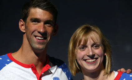Michael Phelps and Katie Ledecky Recreate Epic Olympics Photo