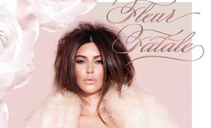 Kim Kardashian: Klad in Lingerie for New Perfume Ad