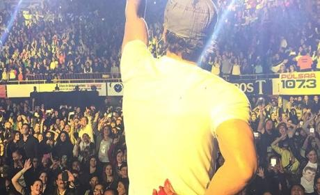 Enrique Iglesias Slices Hand on Drone: See the Footage!