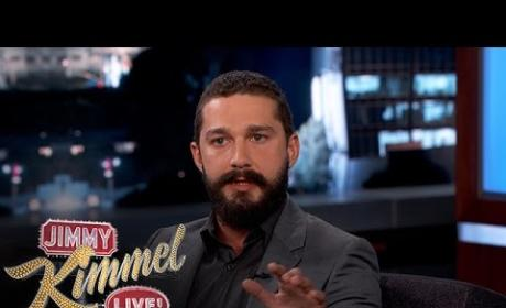 "Shia LaBeouf Opens Up About Arrest, Booze, ""Turning into Tupac:"" Watch the Hilarious Video!"