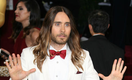 "Jared Leto: Jennifer Lawrence Falling at Oscars ""A Bit of an Act"" ... Maybe?"