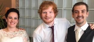 Ed Sheeran SHOCKS Bride and Groom: Watch His Wedding Performance!
