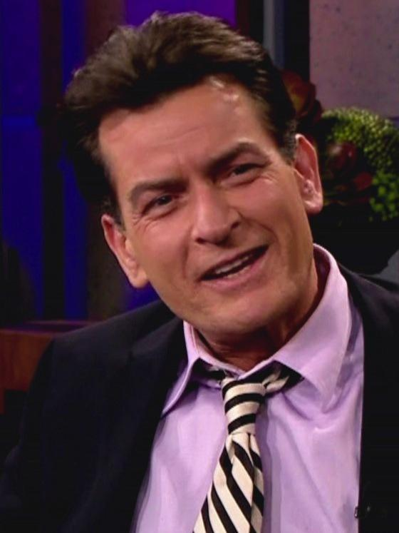 Charlie Sheen on The Tonight Show