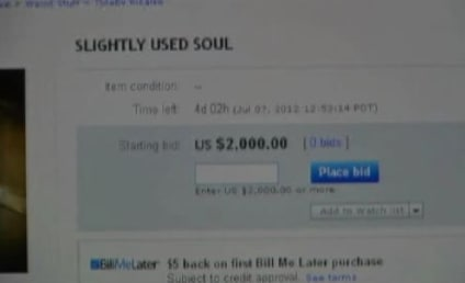 Woman Selling Soul on eBay For $2,000