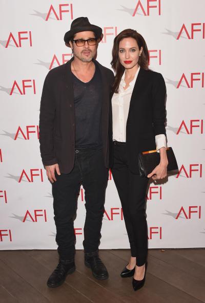 Brad Pitt Angelina Jolie 2015 AFI Awards