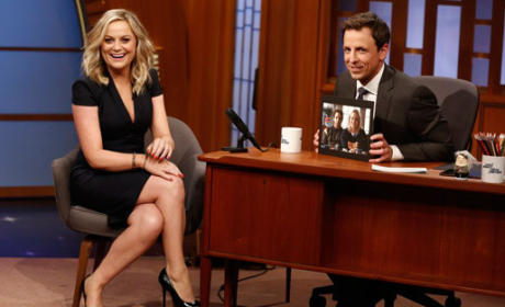 Amy Poehler on Late Night