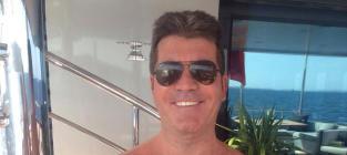 Simon Cowell and Baby Go Shirtless: Like Father, Like Son!