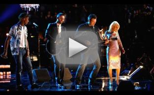 Blake, Adam, Pharrell & Christina - The Thrill Is Gone (The Voice)