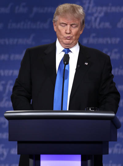 Donald Trump, Displeased