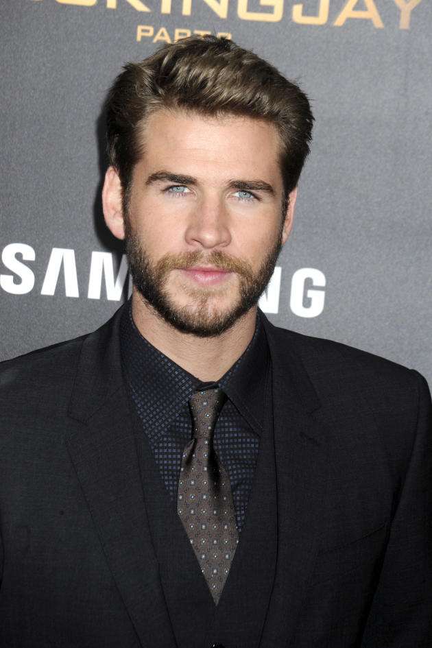 Liam Hemsworth in a Suit