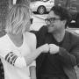 Kaley Cuoco, Johnny Galecki Photo