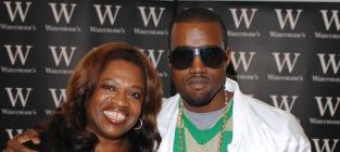 Kanye and Donda West