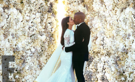 Kim Kardashian-Kanye West Wedding Photo: Most. Liked. Ever.