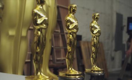 Oscar Hosts in Training