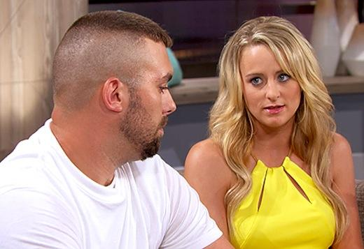 Corey Simms, Leah Messer on Teen Mom 2