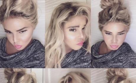 Lil Kim Dyes Hair (And Skin?!?), Looks Unrecognizable