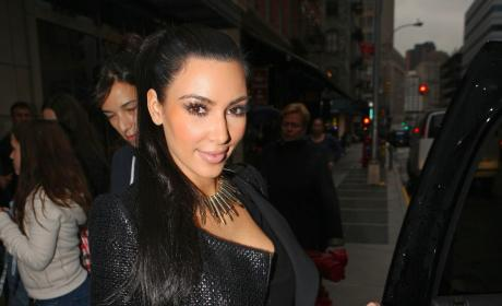Kris Humphries Dines with Kim Kardashian